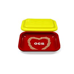 OCB - Bandeja metálica con tapa 19x14cm