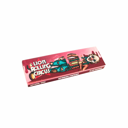 Lion Rolling Circus Cherry Flavored Papers 1.1/4