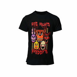 Polera Five Nights at Freddy´s - I Survived Five Nights
