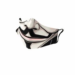 Cubre Boca V de Vendetta