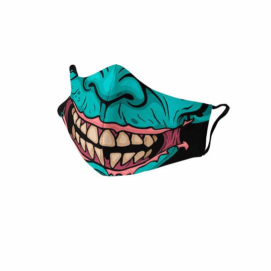 Cubre Boca Zombie