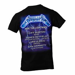 Polera Metallica Ride the lightning