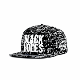 Gorra Snapback Double AA - Black Holes