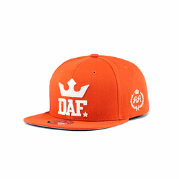 Gorra Snapback Double AA - DAF - Orange