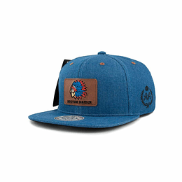 Gorra Snapback Double AA - Boston Raider - Blue