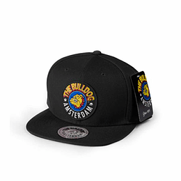 Gorra - Snapback Bulldog Original Color Negro