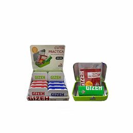 Cajitas Metalicas Gizeh Multiuso (Filtro+Papel)
