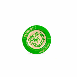 Cenicero metálico Verde