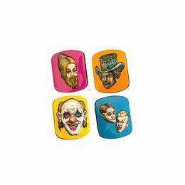 Mini Tin Box Lion Rolling Circus