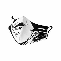 Cubre Boca Dragon Ball Vegeta