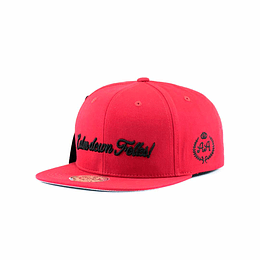 Gorra Snapback Double AA Calm Down Folks! - Red