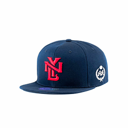 Gorra Snapback Double AA New York - Blue