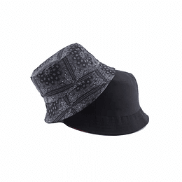 Bucket Hat Reversible Black
