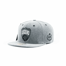 Gorra Snapback Double AA New York Legend - Gray