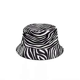 Bucket Hat Reversible - Zebra