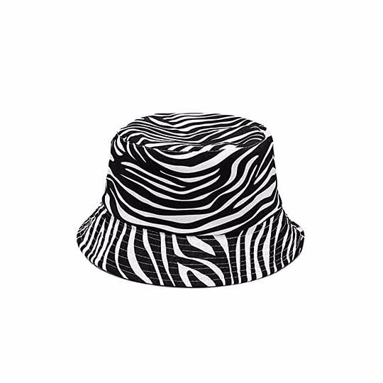 Bucket Hat Reversible - Zebra