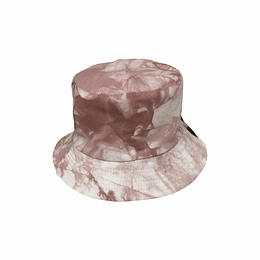 Bucket Hat Reversible - Pink Tie Dye
