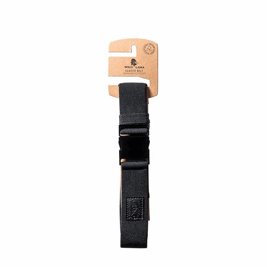 Cinturón WL Solid Black Elasticado