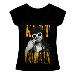 Polera Mujer Kurt Cobain