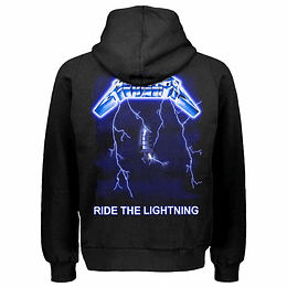 "Polerón Metallica ""RIDE THE LIGHTNING"" unisex"