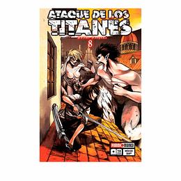 Ataque De Los Titanes - #8