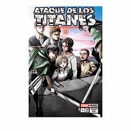 Ataque De Los Titanes - #10