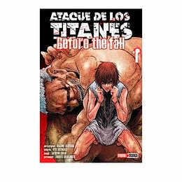 Ataque De Los Titanes - #1 - Before The Fall