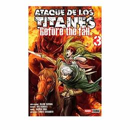 Ataque De Los Titanes - #3 Before The Fall