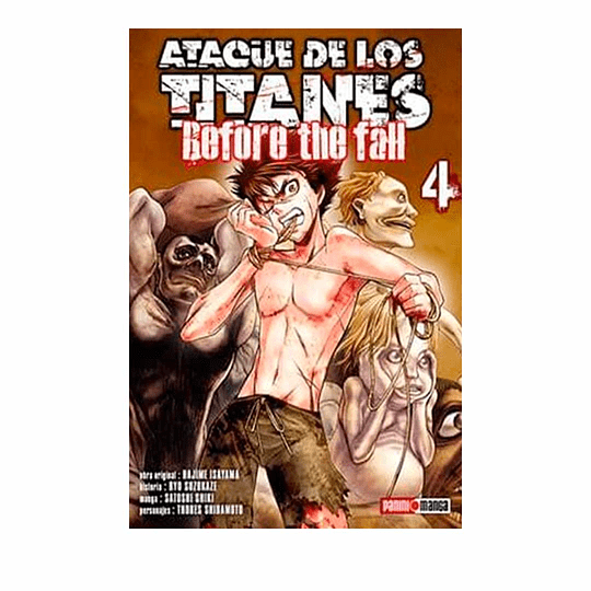 Ataque De Los Titanes - #4 Before The Fall