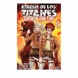 Ataque De Los Titanes - #5 Before The Fall