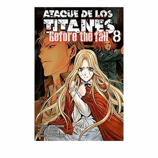 Ataque De Los Titanes - #8 Before The Fall