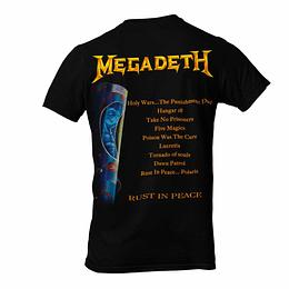 Polera Megadeth Rust in Peace