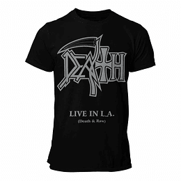 Polera Death Live in L.A