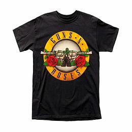 Polera Guns N Roses Classic Logo