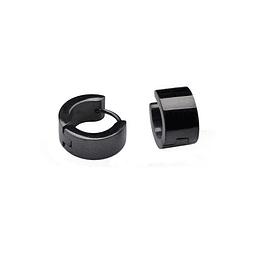 Argolla Acero Negro 6mm