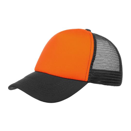 Gorra Trucker - Naranja