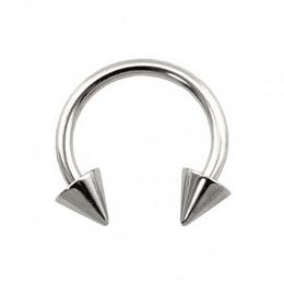 Circular Barbell Acero Conos - 1,2 mm