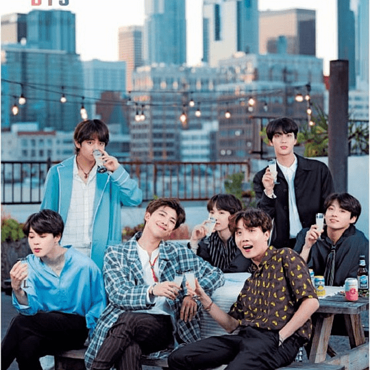 Póster BTS - Love yourself
