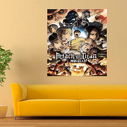 Póster Attack on titan