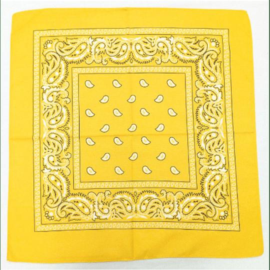 Pañuelo Bandana - Amarillo