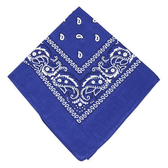 Pañuelo Bandana - Azul Eléctrico