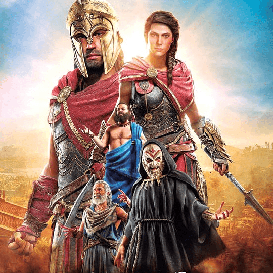 Póster Assanssin´S Creed - Odyssey