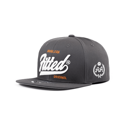 Gorra Snapback Double AA - FITTED - Grey