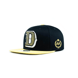 Gorra Snapback Double AA - Boston Black Yellow