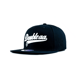Gorra Snapback Double AA Black