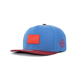 Gorra Snapback Double AA - Original Blue Red