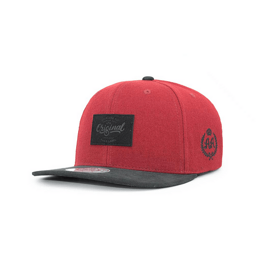 Gorra Snapback Double AA - Original Red Black