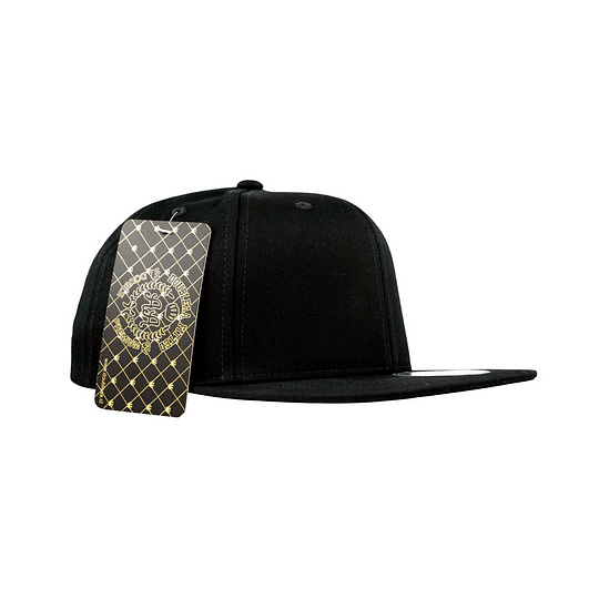 Gorra Snapback  Double AA - Sin Bordado Black