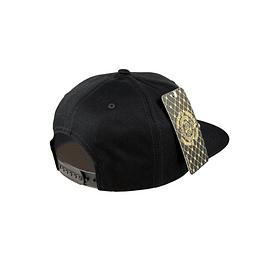 Gorra Snapback  Double AA - Sin Bordado Black