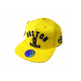 Gorra Snapback Double AA - Boston Raider Yellow